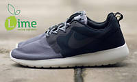 Кроссовки Nike Roshe Run Hyperfuse Grey, фото 1