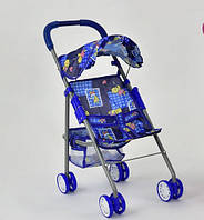 Коляска для кукол, синяя SKL11-183380