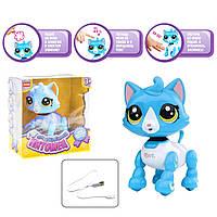 """Интерактивная игрушка """"Смышлённый питомец: котик"""" (голубой) E5599-9"""