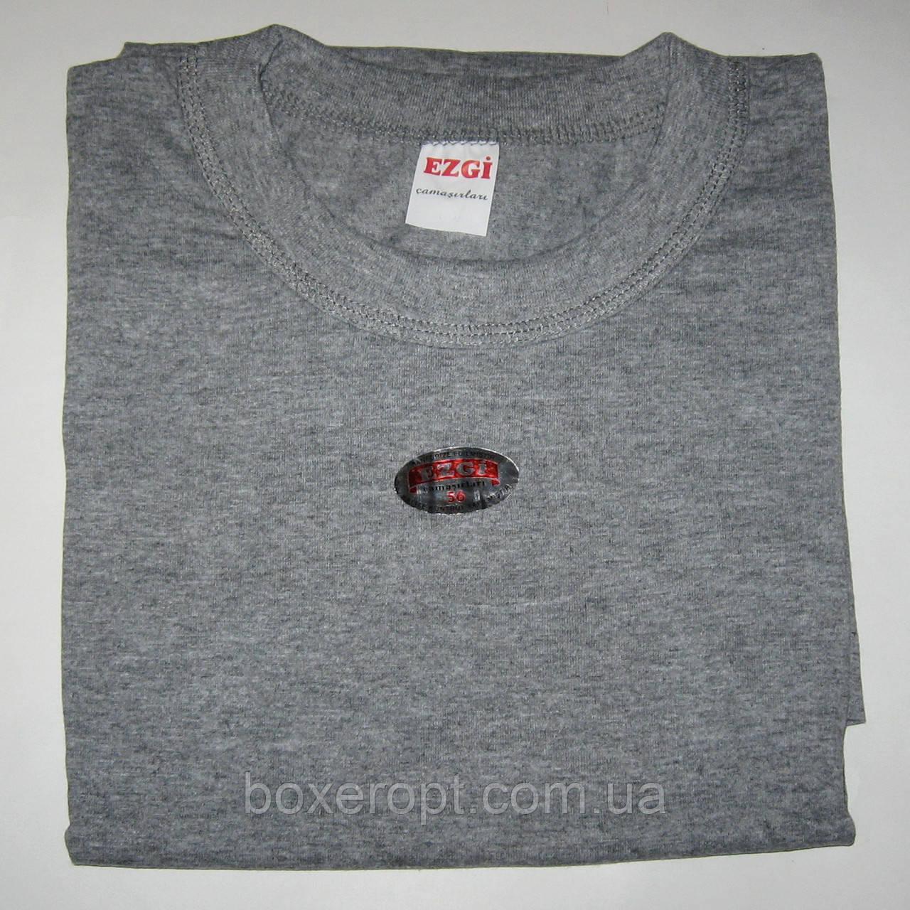 Мужские футболки Ezgi - 46.00 грн./шт. (70-й размер, серые)