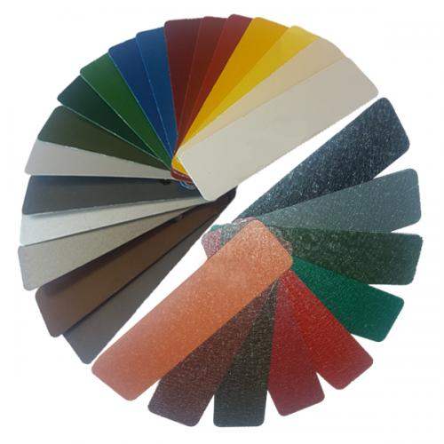 Широкая цветовая гамма оцинкованной тонколистовой стали с полимерным покрытием