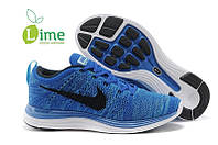Кроссовки Nike Flyknit Lunar Blue