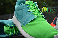 Кроссовки Nike Roshe Run Hyperfuse QS Green, фото 1