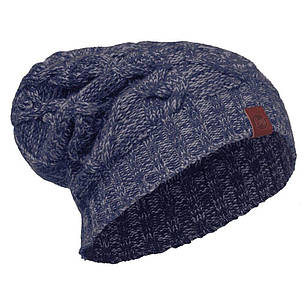 Шапка Buff Knitted Hat Nuba, Medieval Blue, фото 2