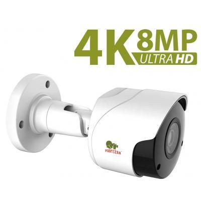 Камера видеонаблюдения Partizan IPO-5SP 4K v1.0 3