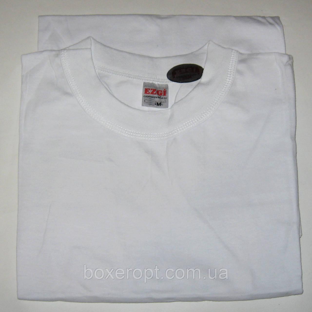 Мужские футболки Ezgi - 37.00 грн./шт. (54-й размер, белые)
