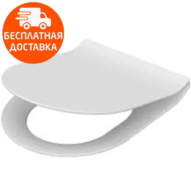 Крышка для унитаза soft-close slim Idevit ALFA 53-02-06-007