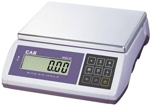 Весы фасовочные CAS ED/ED-H (3 кг, 6 кг, 15 кг, 30 кг)