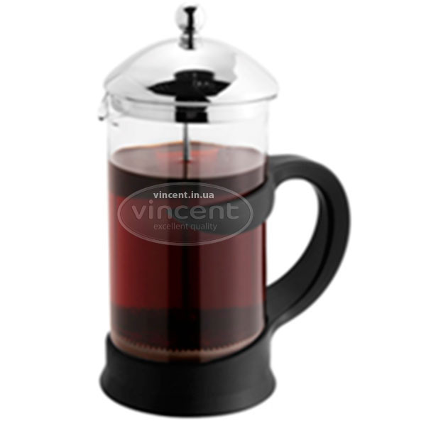 Заварник френч-прес 1,0л  Vincent  VC-4537 mix