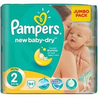 Подгузник Pampers New Baby Mini (3-6 кг), 94шт (4015400264613)