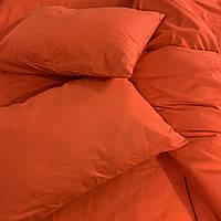 Двуспальный комплект. Красное постельное постельное белье Простыня на резинке