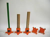 Уровень для плиточника при укладке керамической плитки и керамогранита