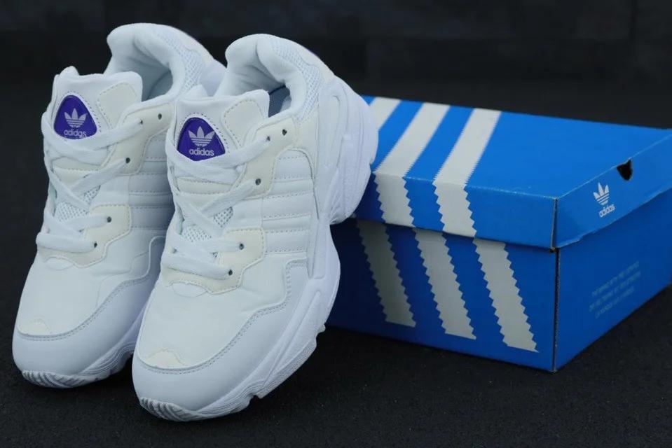 Женские кроссовки Adidas Yung 96 White / Адидас Янг 96 Белые