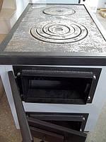 Котел твердотопливный с варочной поверхностью для приготовления пищи — КОТВ-18-с-в, фото 1