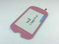 Сенсорная панель Samsung C3510 Corby Pop (Genoa) pink, лицензия