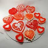 Мило серце Дня Святого Валентина і на 8-е березня Мило ручної роботи, фото 7