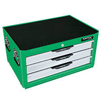 Ящик с набором инструментов для автосервиса TOPTUL (Pro-Line) 3 секции 104 ед. GCAZ0013