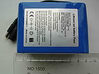 Литий-ионный аккумулятор 12V с ёмкостью 10 000 mAh и платой защиты (YABO-12011000)