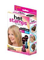 Печать для волос hot stamps