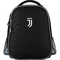 Школьный рюкзак каркасный ортопедический Kite Education 531 FC Juventus, для мальчиков, черный (JV20-531M)