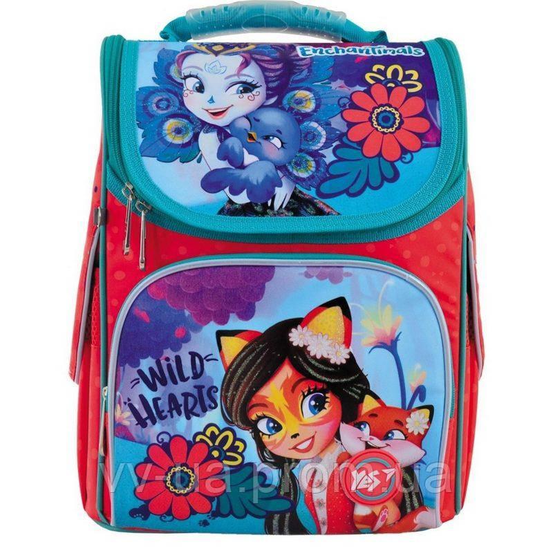 Рюкзак школьный каркасный Yes H-11 Enchantimals (556134)