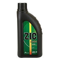 Полусинтетическое моторное масло ZIC(Зик) 5000 Diesel 10w-40 1л.