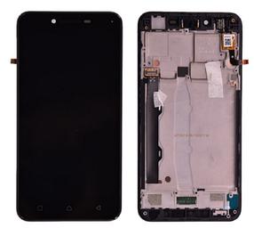 Дисплей (экран) для Lenovo A6020a46 Vibe K5 Plus с сенсором (тачскрином) и рамкой черный