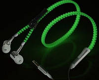 Glow Earphone наушники ( Глоу Ирфон со шнуром змейкой), фото 1