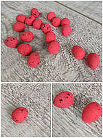 Яйця пінопластові перепелині, декор, декоративні, перепілки, сувенірні, вис. 2 см., 18 шт., 20 грн.