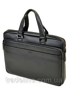 Сумка Мужская Портфель кожаный BRETTON BE 1603-1 black