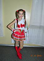 Украинский костюм на девочку  на прокат