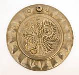 Винтажная настенная бронзовая тарелочка, бронза, Германия, 14,5 см, фото 7