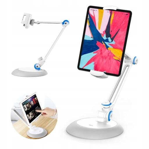 Підставка для планшета ROCK Універсальний Adjustable Desktop Phone White (6971680474976)