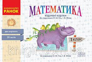 Математика 1 кл Експрес-контроль (Гісь)