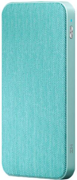 Повербанк ZMi Power Bank 10000mAh Type-C Blue (QB910) (Ф15811)
