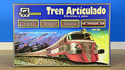 Игрушечная металлическая железная дорога, Pequetren 505