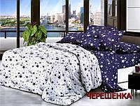 """Двуспальный набор постельного белья 180*220 из Бязи """"Gold"""" №156285AB Черешенка™"""