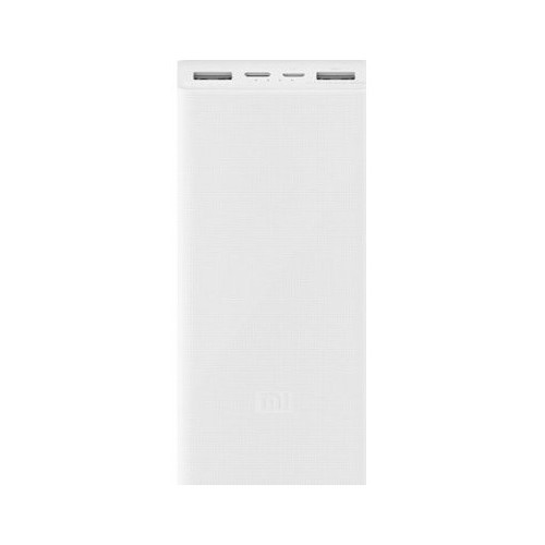 Повербанк Xiaomi Mi Power Bank 3 20000 mAh White (PLM18ZM)