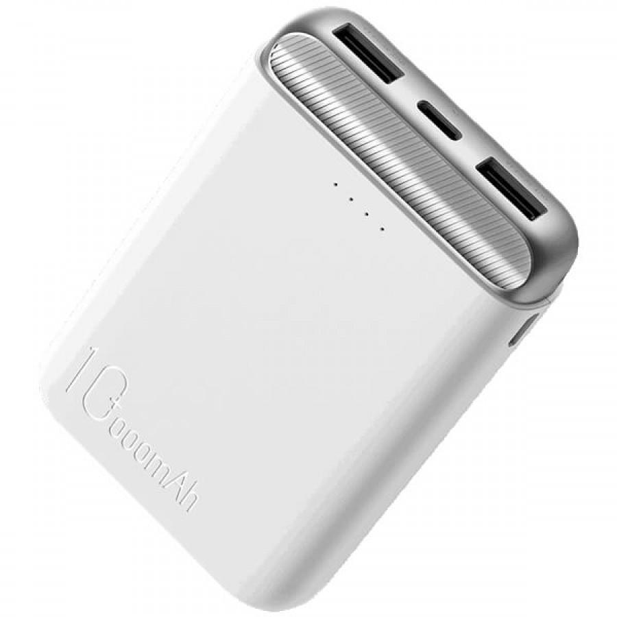 Повербанк Rock P71 Mini Power Bank 10000mAh White (6971680479551)