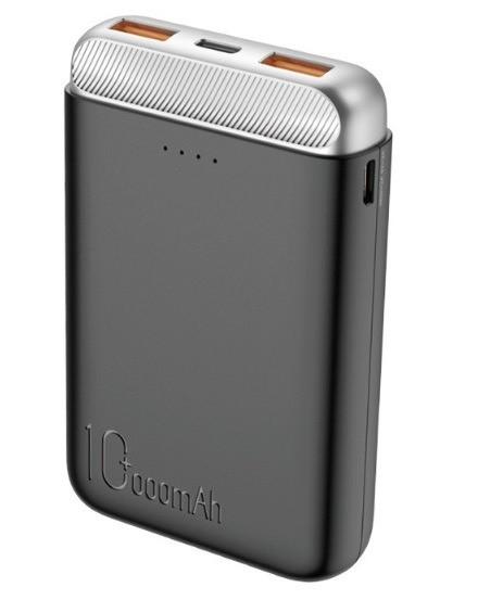 Повербанк Rock P71 Mini PD Power Bank 10000mAh Black (6971680479520)
