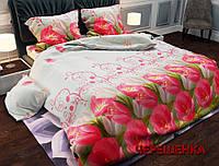 """Семейный набор хлопкового постельного белья из Бязи """"Gold"""" №156385 Черешенка™"""