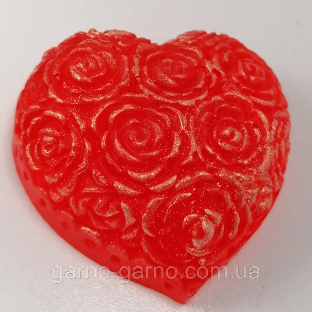Мило серце Дня Святого Валентина і на 8-е березня Мило ручної роботи