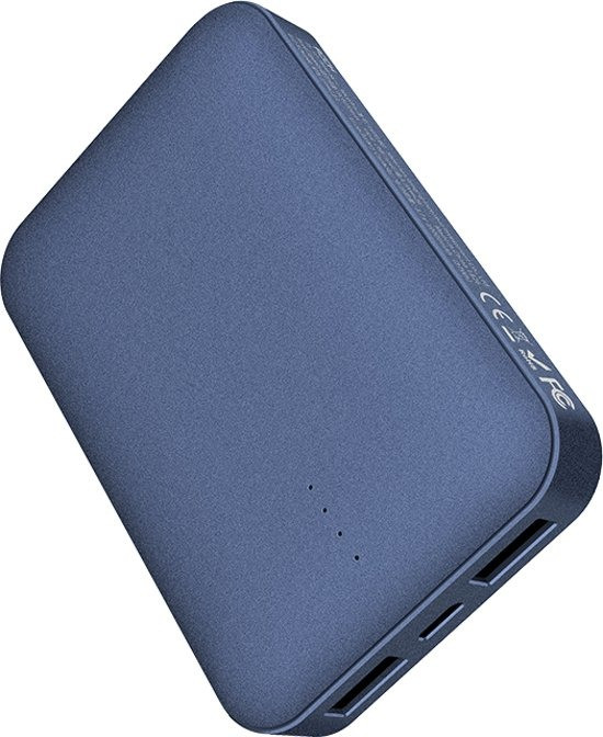 Повербанк ROCK P51 Mini Power Bank 10000mAh Blue (6971680471265)