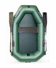 Надувная лодка Ладья лт-190у одноместная гребная
