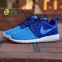 Кроссовки Nike Roshe Run Hyperfuse Blue