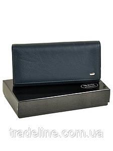 Кошелек Classic кожа DR. BOND W1-V dark-blue