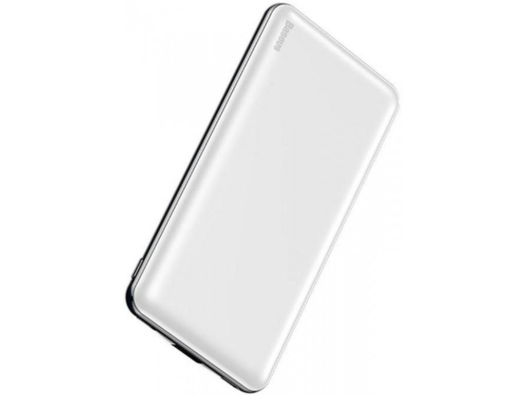 Повербанк Baseus Simbo Smart 10000mAh White (PPALL-BQB02)