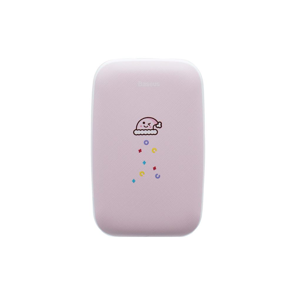 Повербанк Baseus Mini Q Hand Warmer 10000 mAh Pink (PPALL-CXQ)