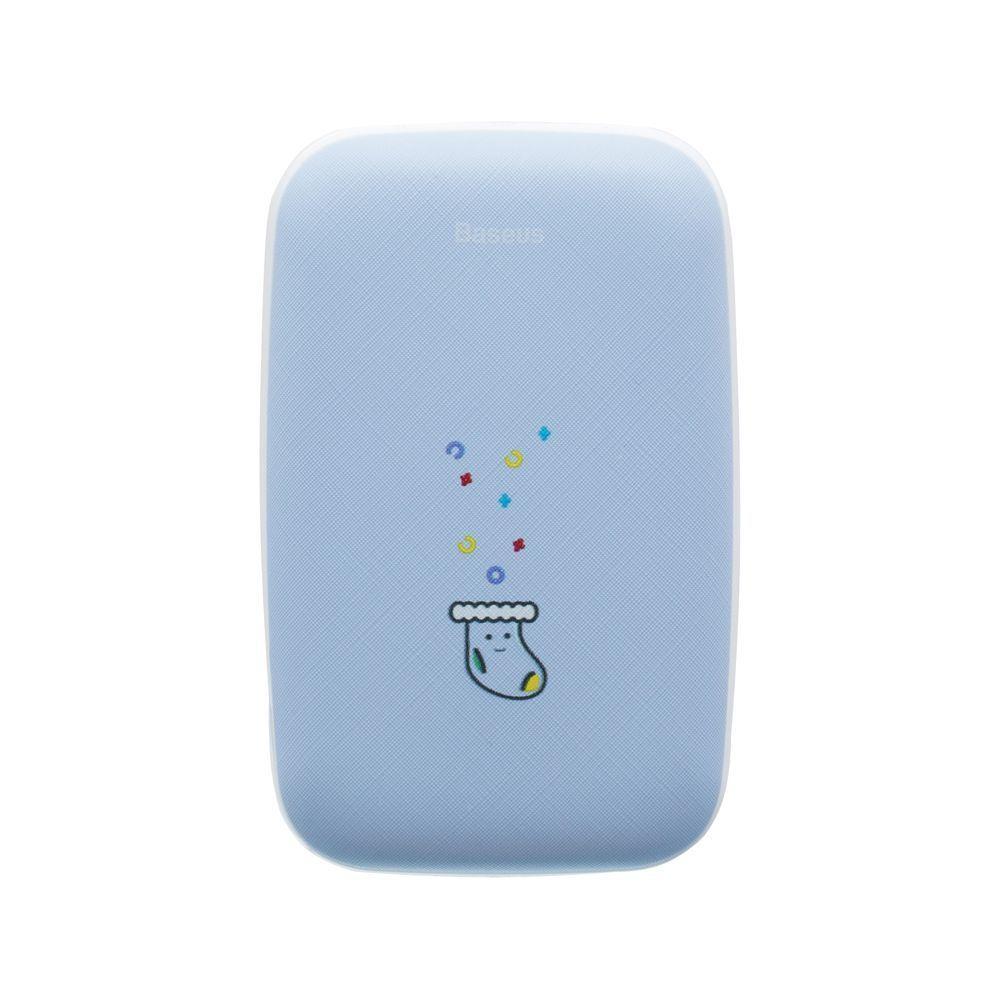 Повербанк Baseus Mini Q Hand Warmer 10000 mAh Blue (PPALL-CXQ)