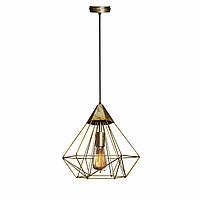 Светильник подвесной MSK Electric Crystal в стиле лофт NL 0538 BN  бронза
